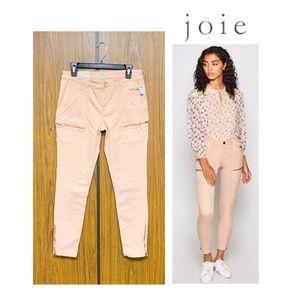NWT Joie Park Skinny Pants Jean Light Apricot Pink